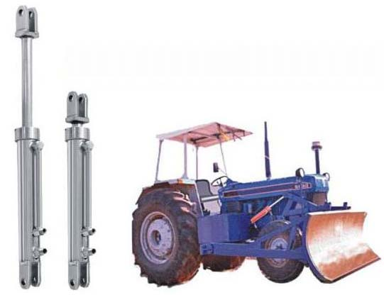 Hydraulic Rams For Tractors : Hydraulic cylinder for tractor attached front dozer