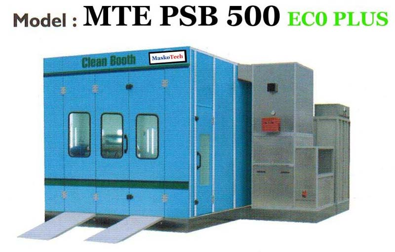 High Pressure Spray Booth : Garage equipments for special purpose manufacturers in gujarat