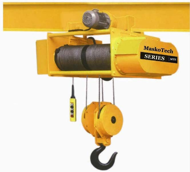 Wire Rope Hoist,Electric Wire Rope Hoist Manufacturers in Gujarat